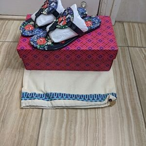 Tory  Burch Miller Floral Thong Sandal